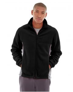 Orion Two-Tone Fitted Jacket-XL-Black