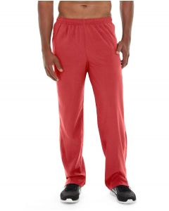 Geo Insulated Jogging Pant-36-Red