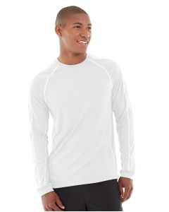 Deion Long-Sleeve EverCool™ Tee-XS-White