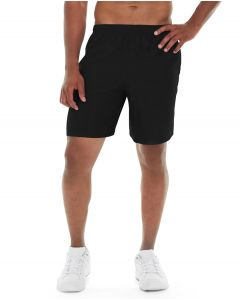 Meteor Workout Short-36-Black