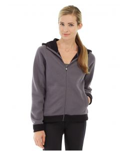 Circe Hooded Ice Fleece-XS-Gray