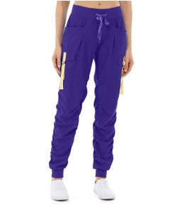 Ida Workout Parachute Pant-28-Purple