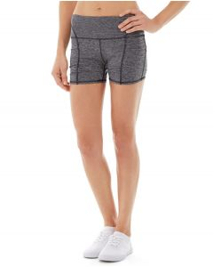 Gwen Drawstring Bike Short-28-Gray